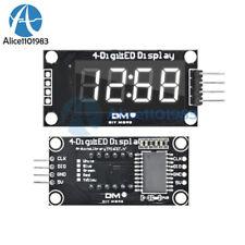White Tm1637 036 Inch 7 Segment 4 Digit Led Display Clock Led Tube Module