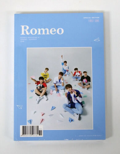 Special Edition CD+232p Photobook+Photocard ROMEO First Love