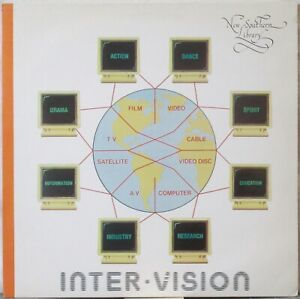 JAMES ASHER Inter-Vision LP Electronic/Synth Music Library—New Southern Library