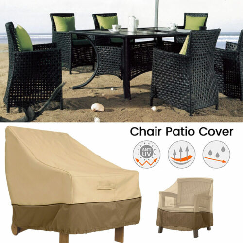 Single Sofa Garden Patio Waterproof Furniture Chair Cover Lawn Outdoor protect