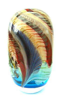Diszipliniert Maxence Parot France Singlevase Gammacolor Creation Blue Aqua Design Glass Vase Hell In Farbe