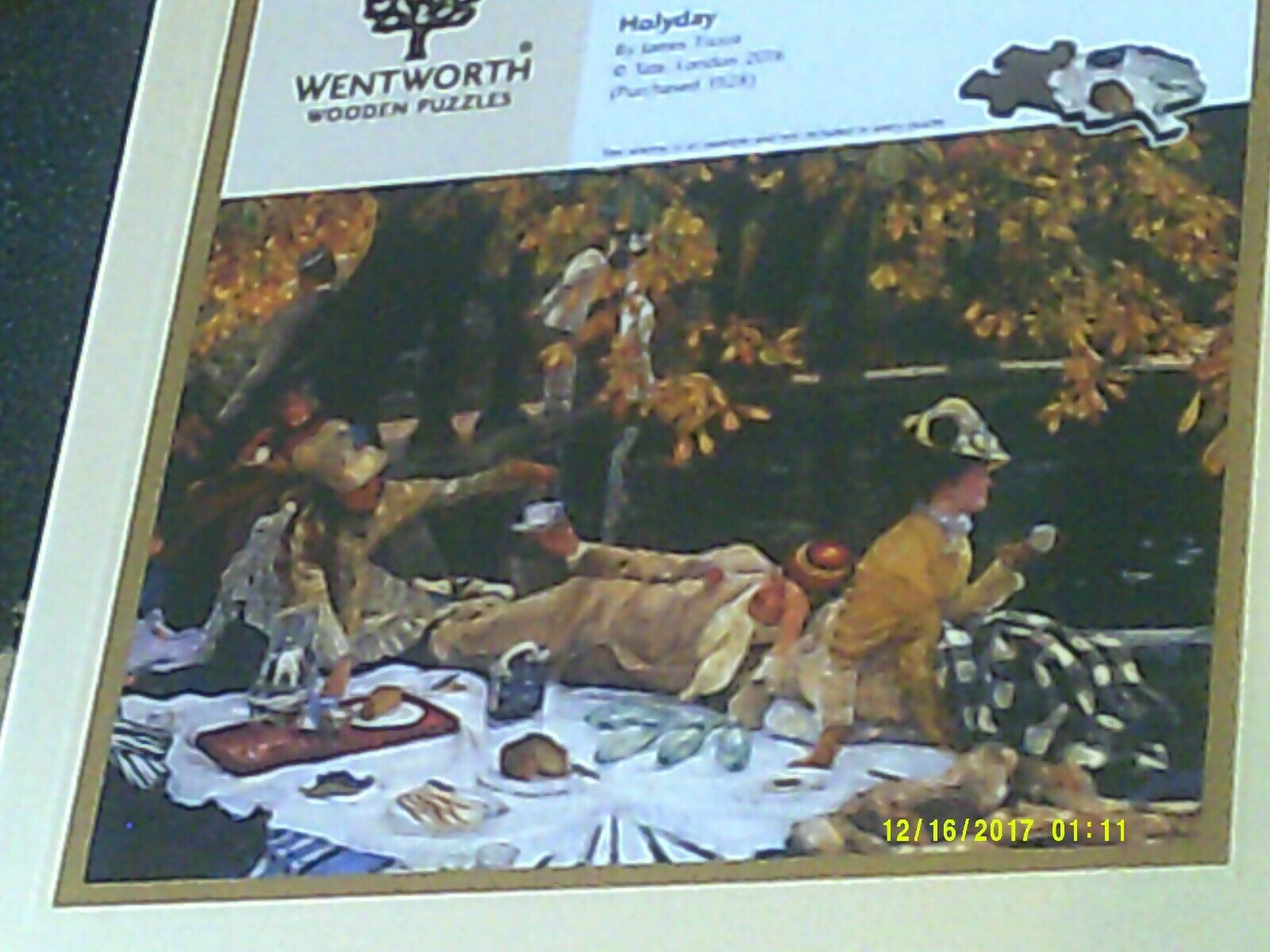 DISCONTINUED NEW SEALED WENTWORTH 250 'HOLYDAY' BY JAMES TISSOT