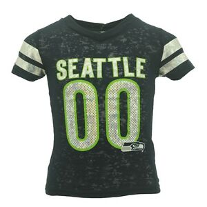 706a44b0 Details about Seattle Seahawks Official NFL Kids & Youth Girls Size Sheer  Shirt New Tags