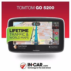 Brand new tomtom go 5200 gps sat nav lifetime traffic wi fi world image is loading brand new tomtom go 5200 gps sat nav gumiabroncs Gallery