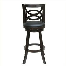 Astounding Bali 24 Swivel Bar Stool Finish Cappuccino 54124 For Sale Squirreltailoven Fun Painted Chair Ideas Images Squirreltailovenorg