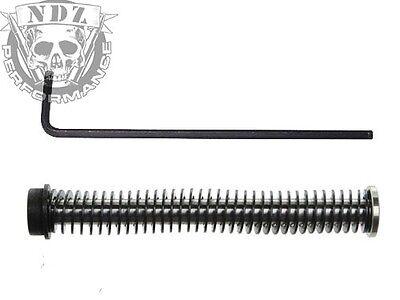 for Glock GEN 5 19 19X NDZ Stainless Guide Rod Black Adapter ISMI 20LB Spring