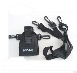 Walkie-Talkie-holder-Case-two-way-radio-bag-MSC-20B-for-Baofeng-UV-5R-ICOM-YAESU
