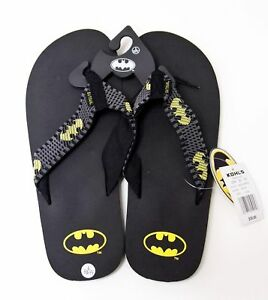 7f1874943e90 Image is loading Batman-Mens-Flip-Flops-Sandals-Super-Hero-Comicon-