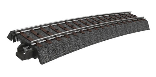 New 15° Märklin Ho 24315 C Track Curved Track R3=515 mm