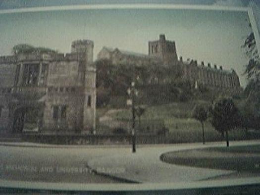 postcard unusedwar heros memorial & university bangor