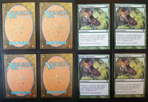 4x Mighty Emergence Shards of Alara