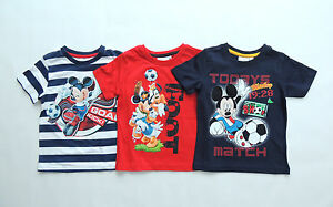 DISNEY-MICKEY-T-SHIRT-GR-98-104-116-128