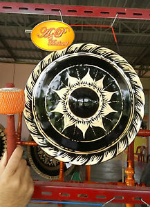 Thai-Gongs-14-034-2-pieces-Hand-made-Handicrafts-from-Thailand