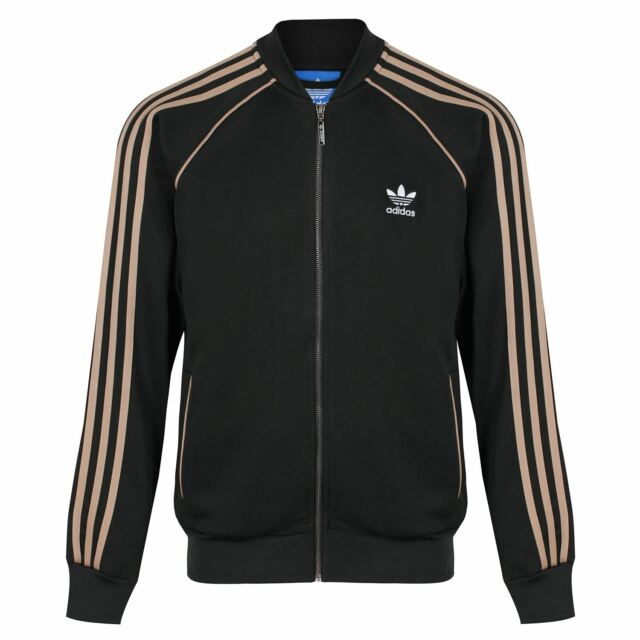 Adidas Originals Mens Superstar Track Top Jacket Zip Up 2 Colour