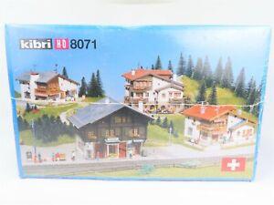 HO-1-87-Scale-Kibri-8071-Lenzerheide-Building-Kit-Set-SEALED