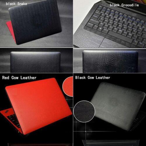 Laptop Snake Crocodile Leather Skin For HP ENVY X360 15-BP101TX
