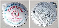 Kalender-Drehscheibe 1958-1975 Emmentaler-Käse EMKLASI 60J. A.Baldauf Schneidegg