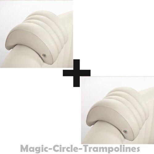 2 Stück Kopfstützen für Intex aufblasbar Whirlpools PureSPA 28501 39x30x23cm NEU