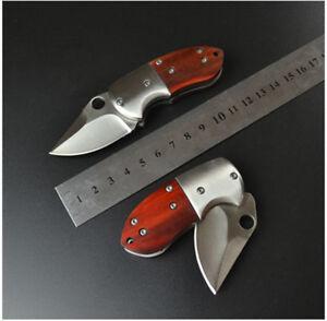 Mini-Folding-Knife-Tactical-Outdoor-Pocket-Hunting-Camping-Fishing-Climbing-US