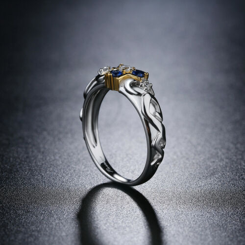 The Legend of Zelda Zora Sapphire Engagement Ring in BOX US Stock