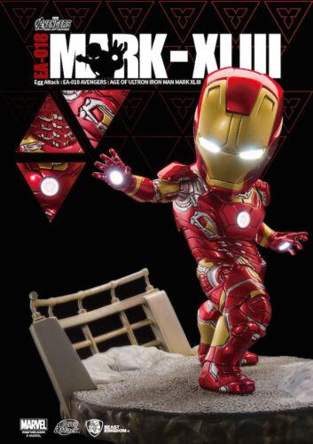 "Beast Kingdom Avengers AOU Egg Attack EA-018 8/"" Figurine Iron Man Mark 43 XLIII"