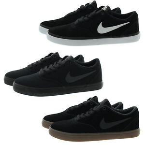 A tientas doce Ministro  Nike 843895 Mens Skateboarding Check Solar Skate Low Top Shoes ...