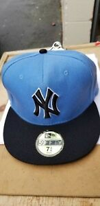 98d682e7b46 Image is loading New-Era-59Fifty-NY-Yankees-Game-Fitted-Hat-