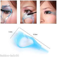 Hot Eye Make Up Tool Eyelash Mascara Pink Applicator Template Comb Guide Guard