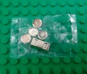 Lego 10x Pearl Gold Plate 1 x 1 Coin NEW