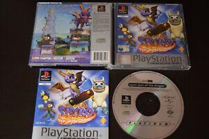 Spyro-Jahr-des-Drachen-Spiel-Playstation-one-ps1-guter-Zustand-Handbuch-UK-Pal