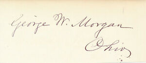 George-W-Morgan-Signature-of-the-U-S-Army-General-Civil-War-amp-Mex-Am-War