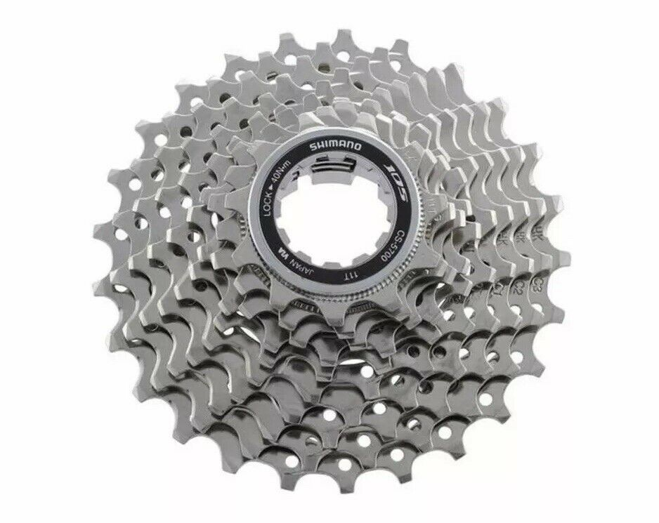 Shimano CS-5700 105 10 Speed Cassette 12-25T Hyperglide Brand New