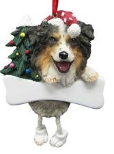 Australian Shepherd ~ Dangling Dog Ornament 53