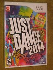 Wii Just Dance 2014 NEW SW One Direction Robin Thicke Lady Gaga ABBA Kesha