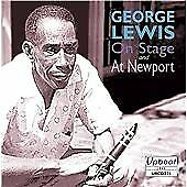 George Lewis : On Stage and at Newport CD Highly Rated eBay Seller Great Prices