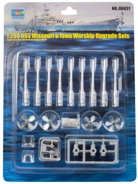 163726e9282 Trumpeter Scale Models 1 200 USS Missouri and Iowa Warship Upgrade Kit 06631