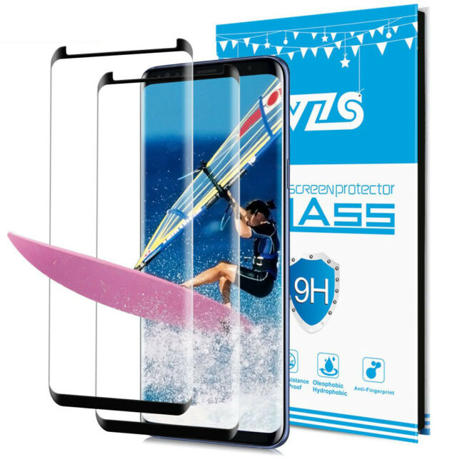 2x 3D Samsung Galaxy S8 S8+ S9 S9 Plus Panzerfolie Schutzglas Full Screen Glas