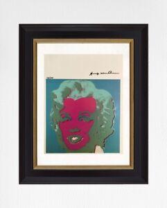Andy-Warhol-1986-Original-Print-Hand-Signed-amp-Certificate-Retail-Price-5-700