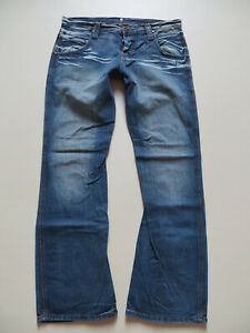 Wrangler-SHARKEY-Bootcut-Jeans-Hose-W-32-L-32-Vintage-X-Low-Denim-Raritaet