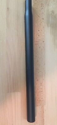 Aluminum Straight Seatpost 27.4 x 350 mm Silver