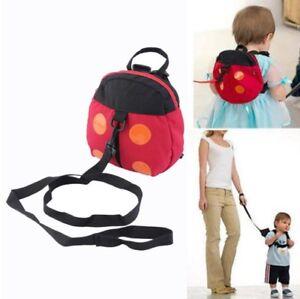 childrens toddler 39 s ladybird backpack with safety reins. Black Bedroom Furniture Sets. Home Design Ideas