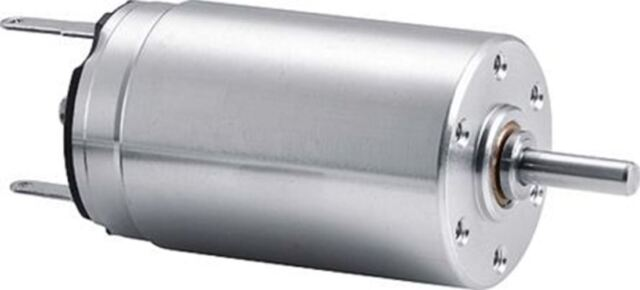 6V DC Electric Motor w// Wires 2mm Shaft Dia. 20 mm Body Diameter 12000 RPM