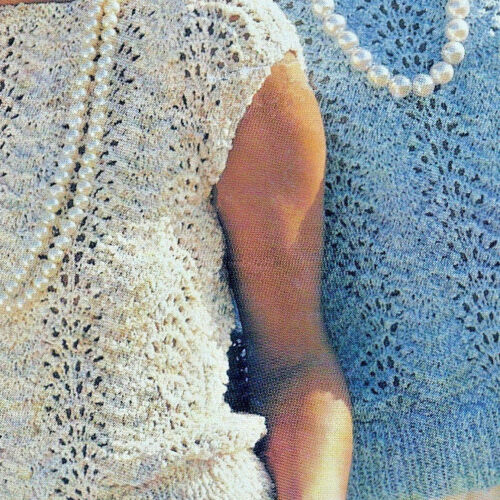 "Ladies//women/'s sleeveless//long sleeved sweater KNITTING PATTERN 30/""-42/"" DK 304"