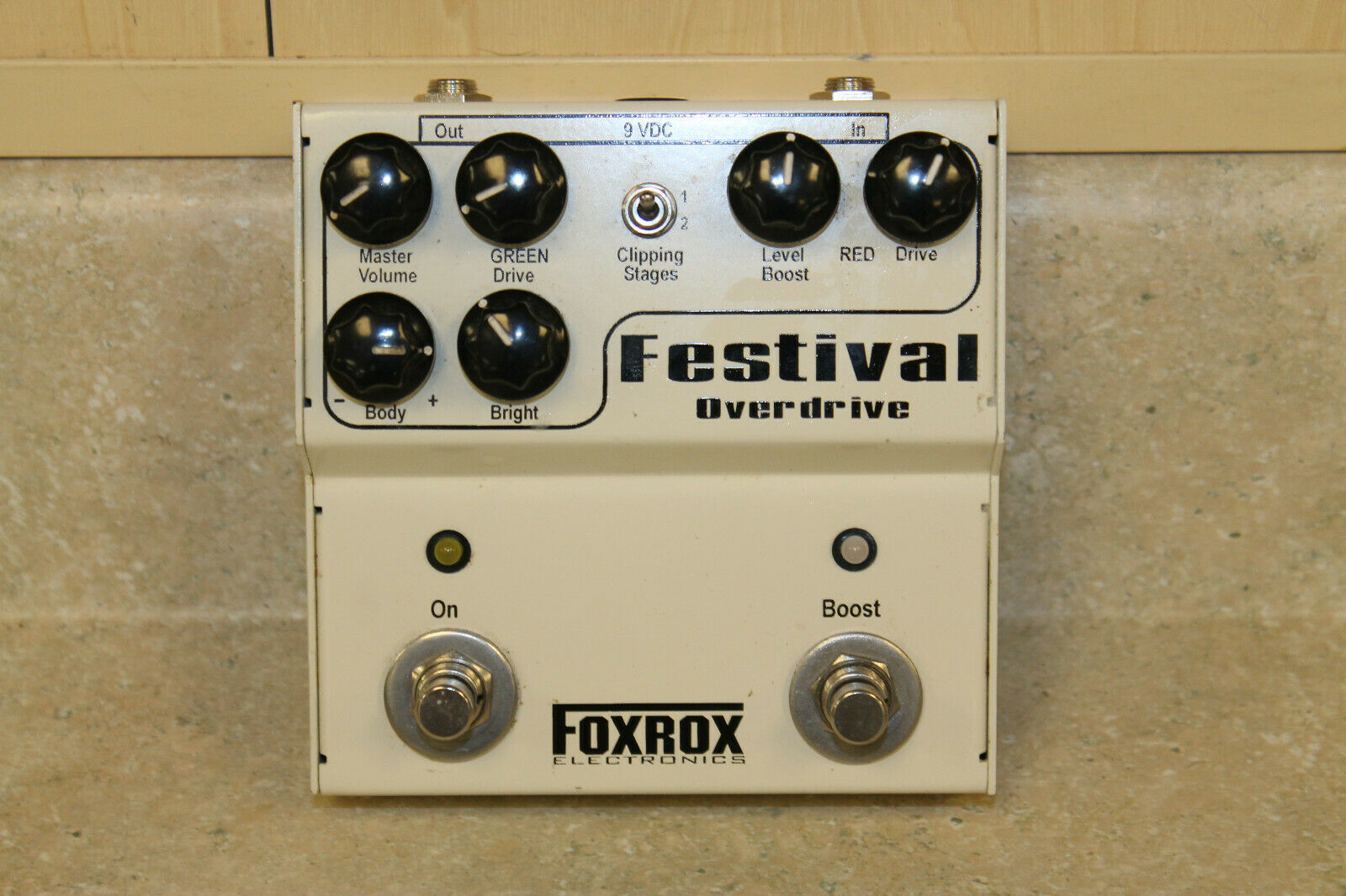 FoxRox Electronics Festival Overdrive Guitar Effects Pedal  Pre-owned