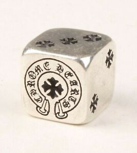 USA-1998-CHROME-HEARTS-925-Sterling-Silver-DICE-Ltd-Edition-Previously-owned