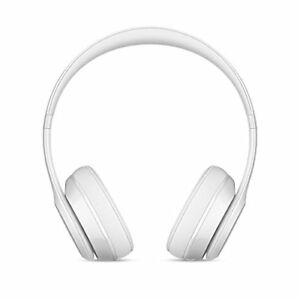 Beats by Dr. Dre Solo3 Wireless Gloss White On Ear Headphones MNEP2LL/A