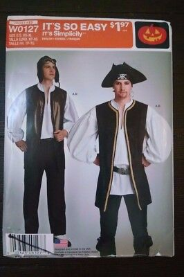 McCall/'s M5446 PIRATES SWASHBUCKLER Child Costume Sewing Pattern Size 3-8