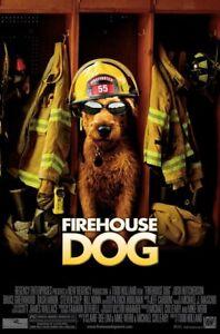 FIREHOUSE-DOG-MOVIE-POSTER-1-Sided-ORIGINAL-Mini-Sheet-13x20