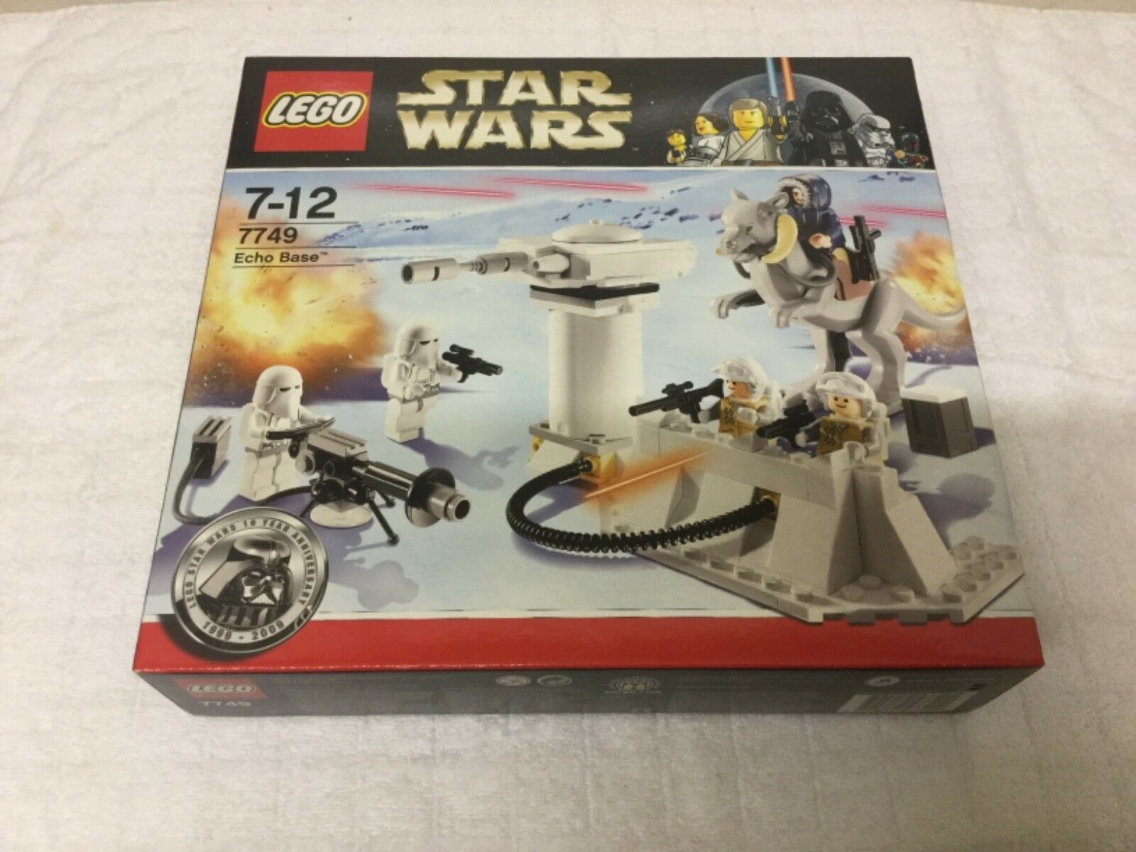 LEGO Star Wars 7749 Echo Base. Discontinued. Brand new. Rare