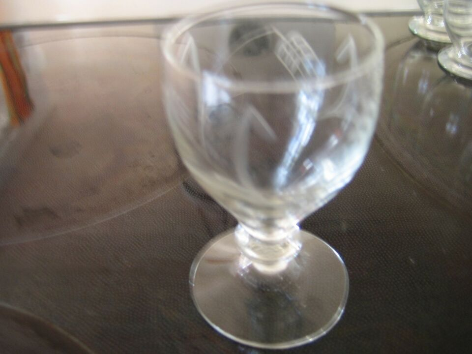 """Glas, 20 STK. GAMLE GLAS, """"HOLMEGAARD"""" """"BYGHOLM"""""""